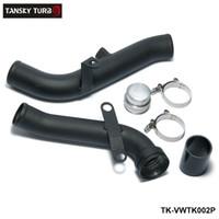 vw turbos al por mayor-TANSKY - Conversión de tubo de descarga turbo para VW Golf GTI MK5 / Scirocco / Audi TT / A3 2.0TSI TK-VWTK002P