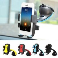 Wholesale Universal Cellphone Car Mount Holder Windshield - Universal Cellphone Car Mount Holder Windshield Desktop Bracket Holders For Cell Phone Smartphone Samsung iPhone