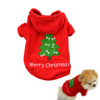 Wholesale Thick Pet Winter Coat - Free Shipping Hot sell Christmas Pet Puppy Dog Clothes Santa Claus Costumes Outwear for Small dog pet Thick Coat Apparel Dog clothing CD025