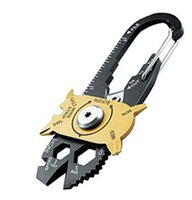 Wholesale utility tool keychain for sale - Group buy FIXR Outdoor Sports Portable Utility Pocket in Multifunction Wrench Screwdriver Opener EDC Survival Keychain Tool