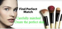 1 1 Nylon HOTTEST Minaqi blush Rouge brush bulk wooden makeup make-up brush powdering persian nylon hair free shipping