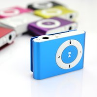 ingrosso lettore mp3 mini sportivo-MINI Clip Lettore MP3 con slot per schede Micro TF / SD Sport mini MP3 Lettore musicale Chip Mp3