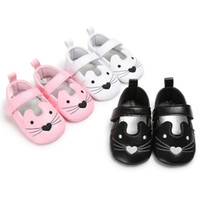 Wholesale Ear Hook Loop - Baby shoes Newborn cute animal embroidery first walking toddler kids rabbit ear princess single shoes baby soft bottom outdoor shoe T5122