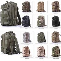 ingrosso borse militari esterne-Retai lWholesale nylon 30L Outdoor Sport Tattico militare Zaini Zaino da campeggio Trekking Bag spedizione gratuita