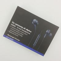 Wholesale Earphones Oem - for galaxy S8 original Earphone OEM Tuned headsets EO-IG955 in ear earbud headphone earphones for Samsung Galaxy s8 s8plus s8+ s7 s6