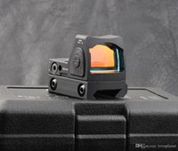 Wholesale Red Dot Sight Picatinny - Hunting shooting Trijicon rmr style 1x red dot sight scope for picatinny rail and glock base mount Key switch black M6293