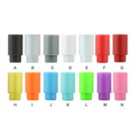Wholesale Disposable E Cigarettes Cheap - Cheap Colorful 510 Silicone Drip Tips Disposable Silica Gel Drip Tip 510 Mouthpiece Wide Bore E Cigarette fit Subtank Atomizer