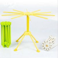 Salad Spinners spinner racks - Noodle Spaghetti Drying Rack G851 Safe Material Pasta Holder Stand Dryer Cooking Tools Gadget Creative Kitchen Accessories h5