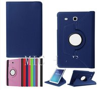 Wholesale Tab3 Accessories Wholesale - 360 Rotating PU leather folio stand case cover For 2016 Samsung Galaxy Tab A 7.0 T280 TAB A 8.0 T350