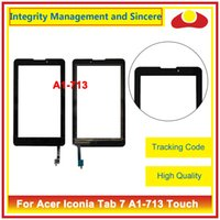 Wholesale Acer Iconia Digitizer - For Acer Iconia Talk S A1-724 A1 724 And Tab 7 A1-713 A1-713HD Touch Screen Sensor Digitizer Front Outer Glass Lens Panel
