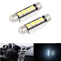 Wholesale free car parts for sale - Group buy 10x White SMD car auto part Error Free LED Map Dome Interior Lights Bulbs MM Festoon