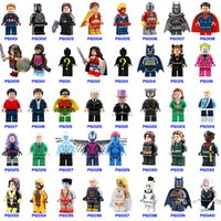 580+ Building Blocks Super Hero Figuras Juguetes The Avengers Juguetes spider-man Juguetes Mini Figuras de acción Bricks Christmas gifts
