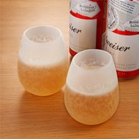 Wholesale Bulk Rubber - Silicone Dishwasher Safe Rubber Wine Glasses Best for Pool or BBQ - Shatterproof & Reusable Makes a Great Wine Gift - Bulk Set of 4