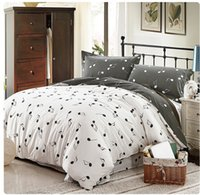 Wholesale Duvet Cover Music Notes - 100% cotton Music note bedding set design grey white music crib set with 4parts in a bag,Bedding Supplies,Home Textiles,Free Shipping