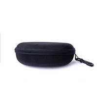 Wholesale Portable Spectacles - Retail large capacity zipper Hard Sunglasses Case Box spectacle casees Pouch Bag portable box glasses portable box glasses