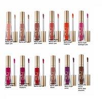 Wholesale Free Hot Melt - HOT Cosmetics melted Matte Lipstick Lip Gloss 12 colors DHL Free shipping