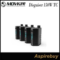 ss screen - Movkin Disguiser W TC Box Mod Newest Double Battery TC NI TI SS Mod with inch OLED Screen Hiding Tank Design Big Window Genius