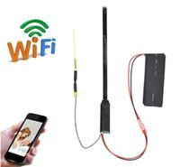 iphone remote kamera app großhandel-HD 1080P Mini Wifi Kamera Portable Wireless Modul P2P Video Recorder Netzwerk Mini DVs für IOS iPhone Android Telefon APP Fernansicht