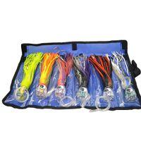 Wholesale marlin lures for sale - 5packs Set of Trolling Lure Set Marlin Tuna Mhi Dolphin Durado Wahoo fishing lure