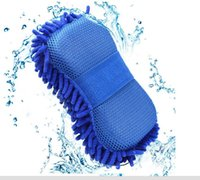 Wholesale Microfiber Cleaning Car Wash - Truck Car Motorcycle Sponge Microfiber Washer Towel Duster For Cleaning & Detailing Washing Tool
