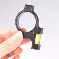 Wholesale Hunting Airguns - Airgun Scope Spirit Level Bubble Tactical Rifle for 30mm Scope Sight Rail Weave Picatinny On Hunting Gun Scope Mounts D