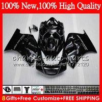 Wholesale 95 Suzuki - Body For SUZUKI RGV250 VJ22 RGV 250 90 91 92 93 94 95 Glossy black Bodywork HM.32 RGV 250 RGV250 1990 1991 1992 93 1995 Fairing kit Black