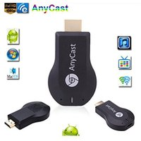 wifi inalámbrico para tableta pc al por mayor-AnyCast M2 Plus Airplay 1080P WiFi WiFi TV TV Dongle Receptor HDMI TV Stick DLNA Miracast para teléfonos inteligentes Tablet PC