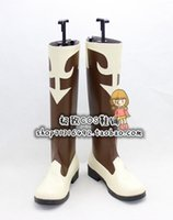 Wholesale Tifa Lockhart Costumes - Wholesale-Final Fantasy Tifa Lockhart tifa cc ver Cosplay Shoes Boots shoe boot #JZ1611 anime Halloween Christmas