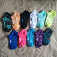 Wholesale Wholesale Athletic Shorts For Men - DHL ship Children socks UA child kids sport short ankle socks running summer Under armo brand socks stockings for girls boys free shipping