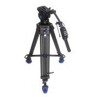ingrosso treppiedi benro-Pro 1.8m Video Fluid Drag Treppiede Benro KH-26NL + Maniglia telecomando + Testa idraulica tridimensionale per videocamera Canon Sony Camera