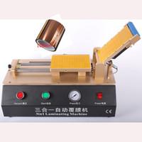 Wholesale Lcd Repair Machine Automatic - 3in1 Automatic OCA Film Laminating Machine Built-in Vacuum Pump Air Compressor For LCD Touch Screen Laminator Repair + Free Tape