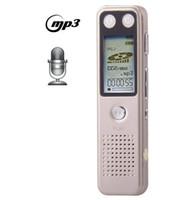 reproductor de mp3 de oro al por mayor-VM30 Professional 8GB LCD Grabadora de voz digital con reproductor de VOR MP3 (Light Gold) envío gratis