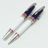 écoles stationnaires achat en gros de-Qualité de luxe John JFK haute papeterie fournitures de bureau scolaire MB stylo à bille stylo roller classique fournitures de papeterie
