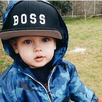 Wholesale Baby Boys Sun Hats - Baby Sun Hat 2016 New Summer Kids Snapback Baseball Caps Children's Boys Girls Embroidery Hiphop Hats Black Pink Color
