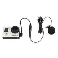 Wholesale Mini USB stereo camera microphone professional microphone for GoPro Hero March