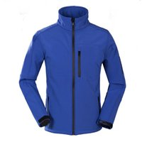 Wholesale Male Waterproof Outdoor Jacket - Windbreaker Anti-Scratch Overcoat Ventilated Chaquetas Outdoor Sport Outer Wear Waterproof Men Softshell Jacket Male S-2XL 4 COLORS