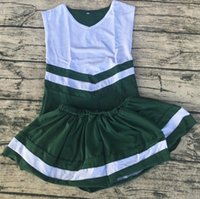 Wholesale Most Popular Wholesale Clothing - most popular high quality kids personalized relaxtion clothing soft cotton cheerleading uniforms cheer cute girls skirt