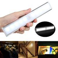 Wholesale Human Senses - LED Body Sensor Lamp Sensing Light White Warm White Human Induction Tube for Cabinet Showcase Wardrobe Kitchen Lighting
