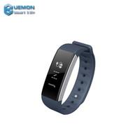 Wholesale Ambulatory Blood Pressure Monitors - 2017 UEMON Bluetooth Heart Rate Wrist band Smart Watch Ambulatory Digital Blood Pressure Monitor Fitness Tracker