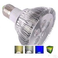 Wholesale 15w Screw Light Bulbs - Dimmable PAR30 PAR38 led spotlight 15W 21W par30 led bulbs Screw lamp 110V 220V panel light White led spot light E27 E26 CEUL RoHs