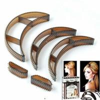 вкладыши для волос оптовых-5PCS Bumpits Big Happie Hair Volumizing Inserts Hair Pump Beauty Set Tool 3 Size Drop Shipping