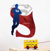 Dropshipping Wall Stickers Superman UK Free UK Delivery On Wall - Spiderman wall decals uk
