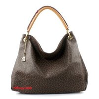 Wholesale Handbags Name Brands - Free Shipping !!! Promotion !!! New Brand Name Fashion PU leather handbags women famous brands designers tote shoulder bags with dust bag