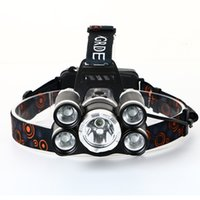 Wholesale Headlight Brands - JEANIGHT 5t6 Led headlamp Headlamps Hlashlight 18000 Lumen Head flashlights new brand torch lantern Headlights for fishing hunting