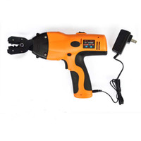 Wholesale Crimp Battery Terminals - 6100c cordless wire clamp insulation electric terminal crimping tool 0.5 to 6mm2 naked battery terminal wiring crimper