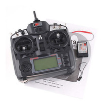Wholesale 9ch Rc Helicopter - FlySky FS-TH9X-B 2.4G 9CH Radio Control for RC Helicopter Airplane Multicopter