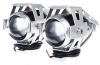 Wholesale kawasaki headlights for sale - Group buy 2Pcs W Motorcycle Headlight Color Harley Headlight Waterproof LED Fog Light LM U5 Motorbike Driving Spot Head Lamp