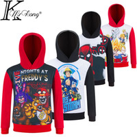 Wholesale Cartoon T Shirts For Kids - Kids Naruto Shirt Children Star War T-shirt 4-12 yrs Boy Fnaf Five Night At Freddy Clothing Cartoon Deadpool clothes for Polyester