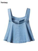 Wholesale Denim Bra Straps - Wholesale-XD-30-643 fashion products personality denim jacket umbrella sling 0718