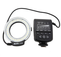 Wholesale Meike MK FC100 LED Macro Ring Flash Light with Adapter Ring for Digital Camera
